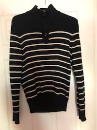 black and white pinstriped sweatshirt Falls Church, 22042