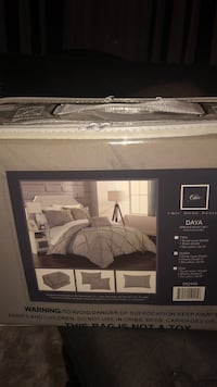 Duvet cover set with 2 shams and decorative pillow  41 km
