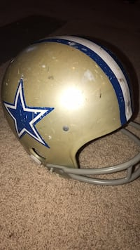 grey, white and blue Dallas Cowboys football helmet Noblesville, 46060