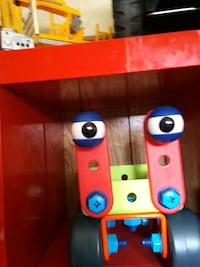 red and blue plastic toy Spanish Fork, 84660