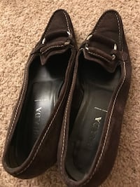 Prada brown suede shoes size 9 narrow width Northborough, 01532