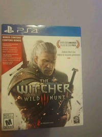 Sony PS4 The Witcher Wild Hunt game Toronto, M6N 5C8