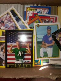 Baseball cards (over 200 cards)