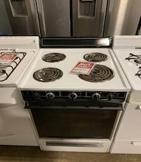 "❥Used electric stove 24"" coil top - Seaford"