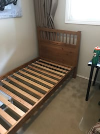 Twin IKEA Bed Frame  Burnaby, V3J 7A4