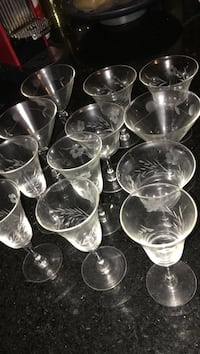clear wine glasses Revere, 02151