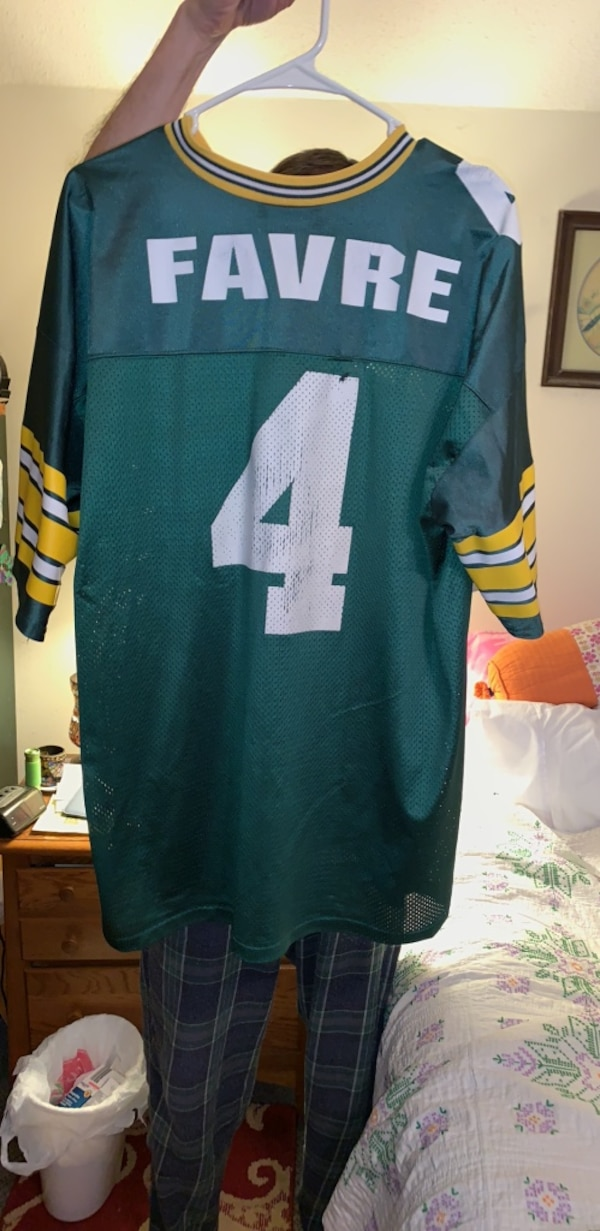 premium selection edf42 0d870 Brett Favre Green Bay Packers jersey extra-large