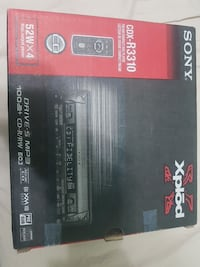 Sony Xplod CDX-R3310 1-DIN car stereo box