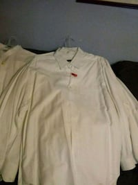 shirt bunch of 8 white. Good condition 17 1/2  Woodlawn, 21207