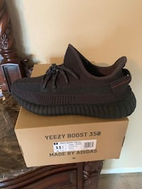 "ADIDAS YEEZY BOOST 350 V2 ""BLACK"" 100% AUTHENTIC, $350, SIZE 11.5 ONLY"