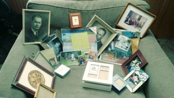 Picture Frames 15 approx. And other items
