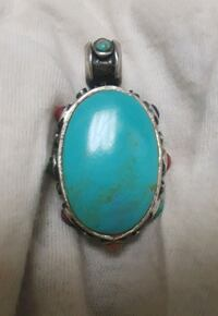 Vintage Handcrafted Native American Turquoise  Decatur, 35601