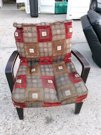 big chair with cushions