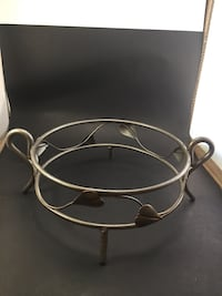 """Bowl Stand Wrought Iron 10x4"""" Lake Elsinore, 92532"""