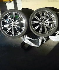 RTX Scorpion Rims and Tires 17 Inch Oshawa, L1J