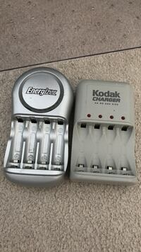 NiMH Battery chargers. Five pieces for car as well. Scroll down. Make an offer for one or both.