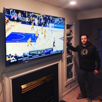 TV Mounting & Wire Concealment service Leesburg