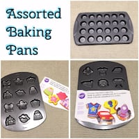 Assorted Wilton bakeware , prices as marked  Ajax, L1T 0A9