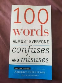 100 Words Almost Everyone Confuses and Misuses Kitchener, N2B 1A3