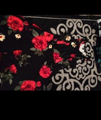 Black and red flowered dress Citrus Heights, 95610