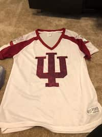 8b52ef6c8a6c Used white and grey 05 jersey for sale in Bloomington - letgo