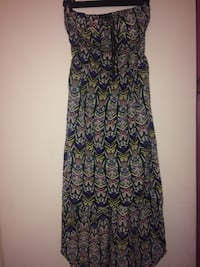 Women's black and white floral sleeveless dress Gulfport, 39507