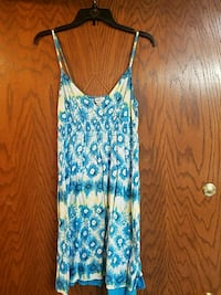 Juniors Multicolored floral spaghetti strap dress Muskego