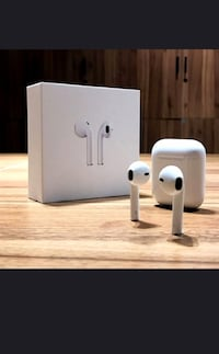 New AirPod twinset with charging dock not an Apple product but comparable features good sound  Toronto, M9M 0A2
