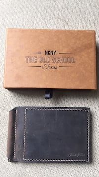 brown leather Michael Kors wallet Hamilton, 20158