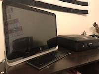HP Desktop & Canon Printer Combo Cockeysville, 21030