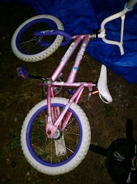 toddler's purple and white bicycle Niles, 44446