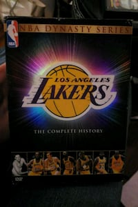 Lakers History 5 DVD collection Burbank, 91505