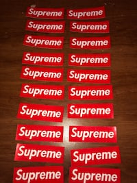 SUPREME STICKERS  Nashville, 37218