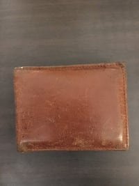 brown leather bifold wallet Langley, V2Y