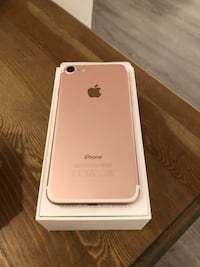 Iphone 7 rosegull 128gb