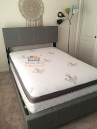 Brand new full size bed frame only (no mattress) Silver Spring, 20902