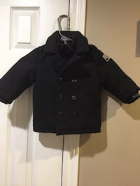 Black button-up jacket excellent condition