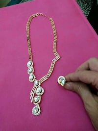 Costume necklace and ring Orlando, 32804