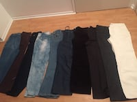 four black and gray pants Quebec City, G1M 1N9