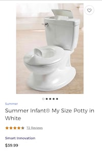 Summer Infant My Size Potty Toronto, M3A 0A2