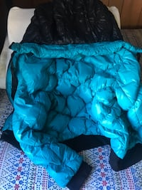 Thick eiderdown/ duck's cold protective clothing