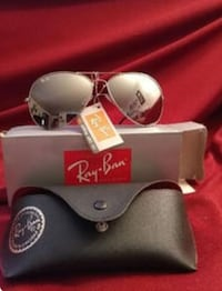 Silver Ray Bans - new in box