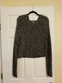 Knit Cropped Sweater Wall Township, 07719