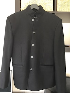 Svart Coat / blazer for Menn