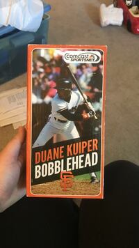 Duane kuiper bobblehead. Perfect condition. Sunnyvale, 94087