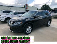 Nissan - Rogue - 2015 $2000 DOWN PAYMENT Houston
