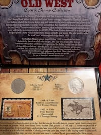 Old Coins and stamps collection