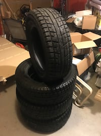 Winter tires - 235/65/17 Yokohama Ice Guard.