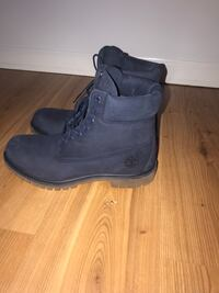 Timberlands original size 10 men's blue leather Vancouver, V5M 2A9