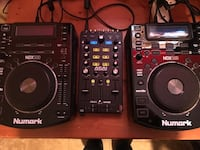 black and gray DJ mixer Glendale Heights, 60139